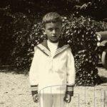 Georges Borgeaud, enfant.