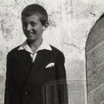 Georges Borgeaud, pré-adolescent.