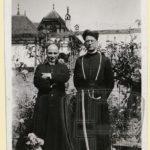 Norbert Viatte et Paul Saudan, à l'époque de Saint-Maurice.